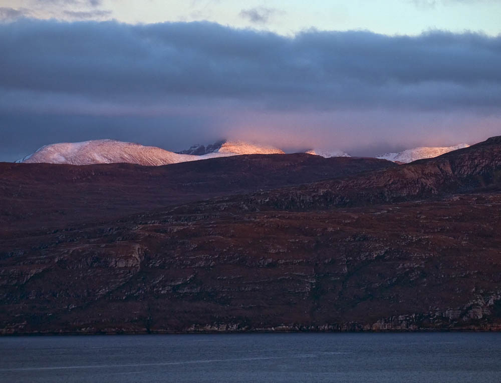 An Teallach and Loch Broom